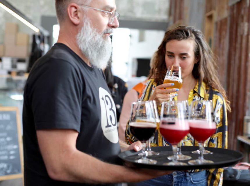 Hal 16 dokken van Gent bier