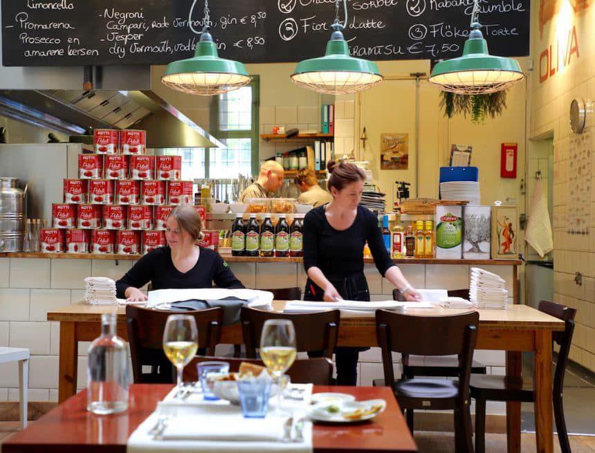 Rotterdam biologische restaurants hotspots