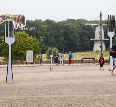 Eten en drinken in het Openluchtmuseum in Arnhem