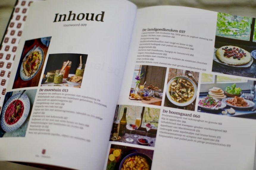 De landgoedkeuken kookboek Mariënwaerdt winactie