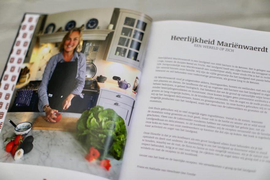 De landgoedkeuken kookboek Mariënwaerdt nathalie barones van verschuer