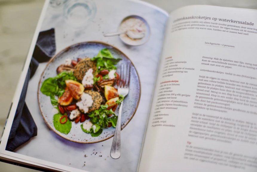 De landgoedkeuken kookboek Mariënwaerdt geitenkaaskroketjes