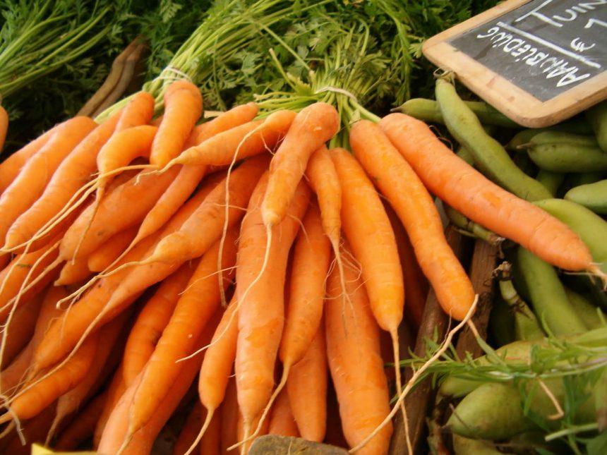 Biologische markt boerenmarkt