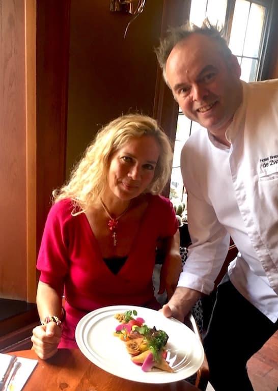 Puur! uit eten bij Ben Aerts Hotel de Zwaan Venray jeannette van mullem