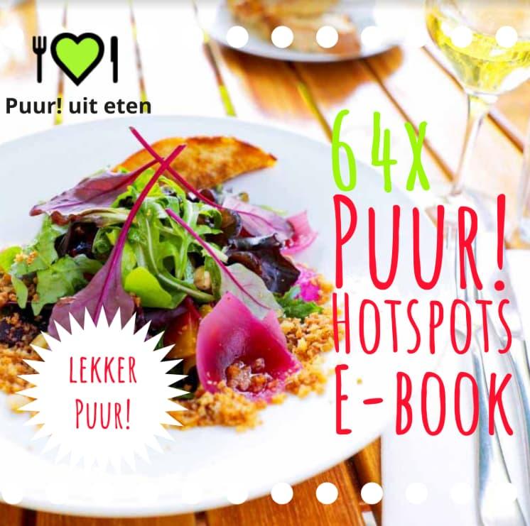 Puur! uit eten hotspots e-book horeca duurzaam