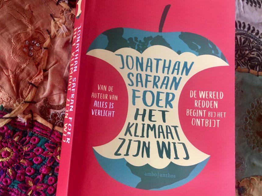 Het klimaat zijn wij boek Jonathan Safran Foer