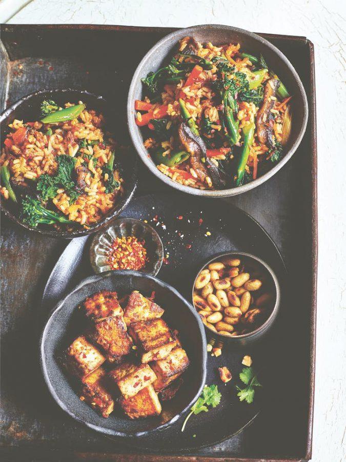 Kimchi bakkeumbap Rebels lekker vegan recept